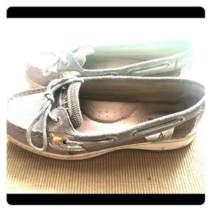 Sperry Topsider-Silver